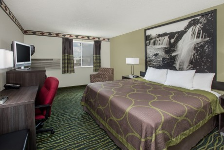 Welcome To Super 8 by Wyndham Independence Kansas City - King Room